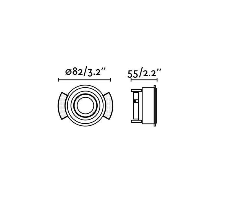 Hyde estudi ribaudi spot encastrable recessed light  faro 40110  design signed nedgis 63311 product
