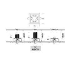 Ringo box 1 2 orientable onok spot encastrable recessed light  onok rf12e10xxxxwb  design signed nedgis 88669 thumb