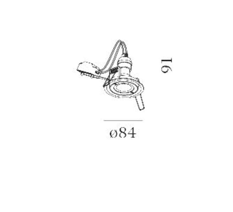 Rini par16 studio wever ducre spot encastrable recessed light  wever et ducre 154120w0  design signed nedgis 69490 product