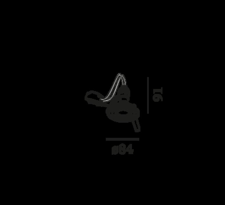 Rini par16 studio wever ducre spot encastrable recessed light  wever et ducre 154120w0  design signed nedgis 79700 product