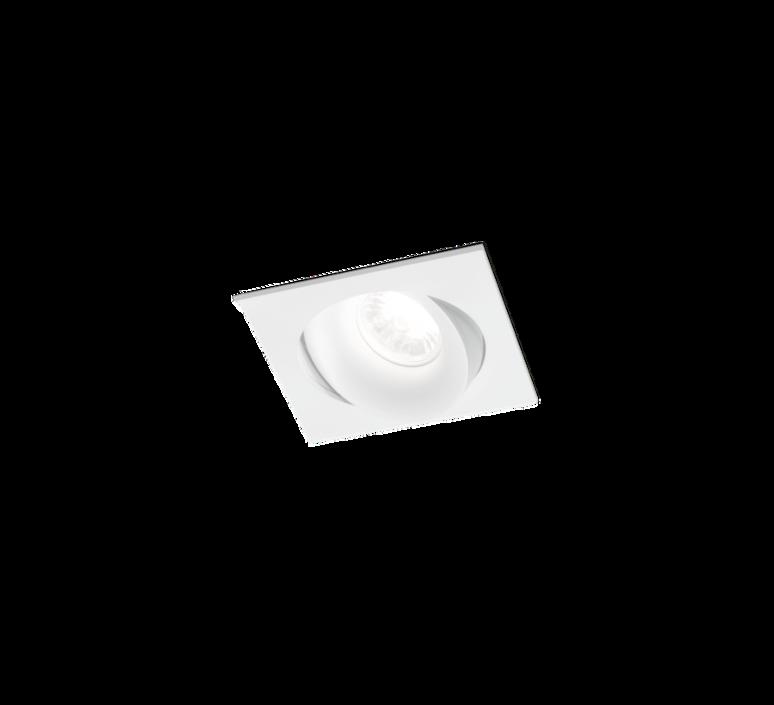 Spot encastrable ron 1 0 led orientable blanc l11cm p11cm h85cm 2700k 36 590lm wever ducre 50052 product