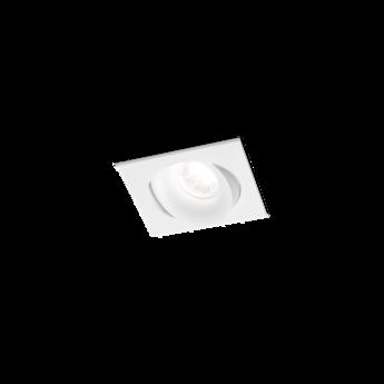 Spot encastrable ron 1 0 led orientable blanc l11cm p11cm h85cm 2700k 36 590lm wever ducre normal