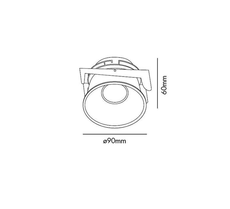 Fresh ip44 manel llusca spot encastrable recessed light  faro 02200501 4r033  design signed 35370 product