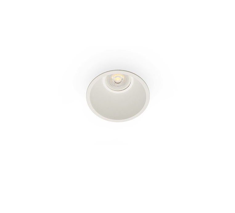 spot encastrable salle de bain fresh ip44 blanc 9cm h6cm faro luminaires nedgis. Black Bedroom Furniture Sets. Home Design Ideas