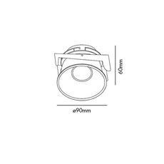 Fresh ip44 manel llusca spot encastrable recessed light  faro 02200503 4r033  design signed 35368 thumb