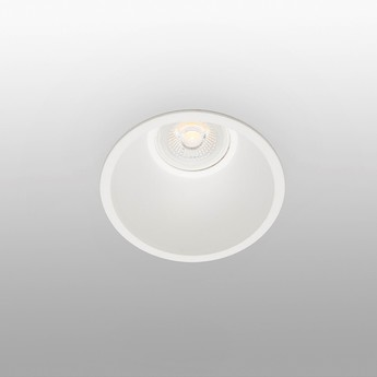 Spot encastrable salle de bain fresh ip64 blanc o9cm h6cm faro normal