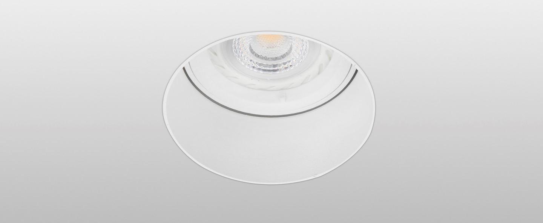 Spot encastrable sans collerette fresh blanc 60mm h60mm faro normal