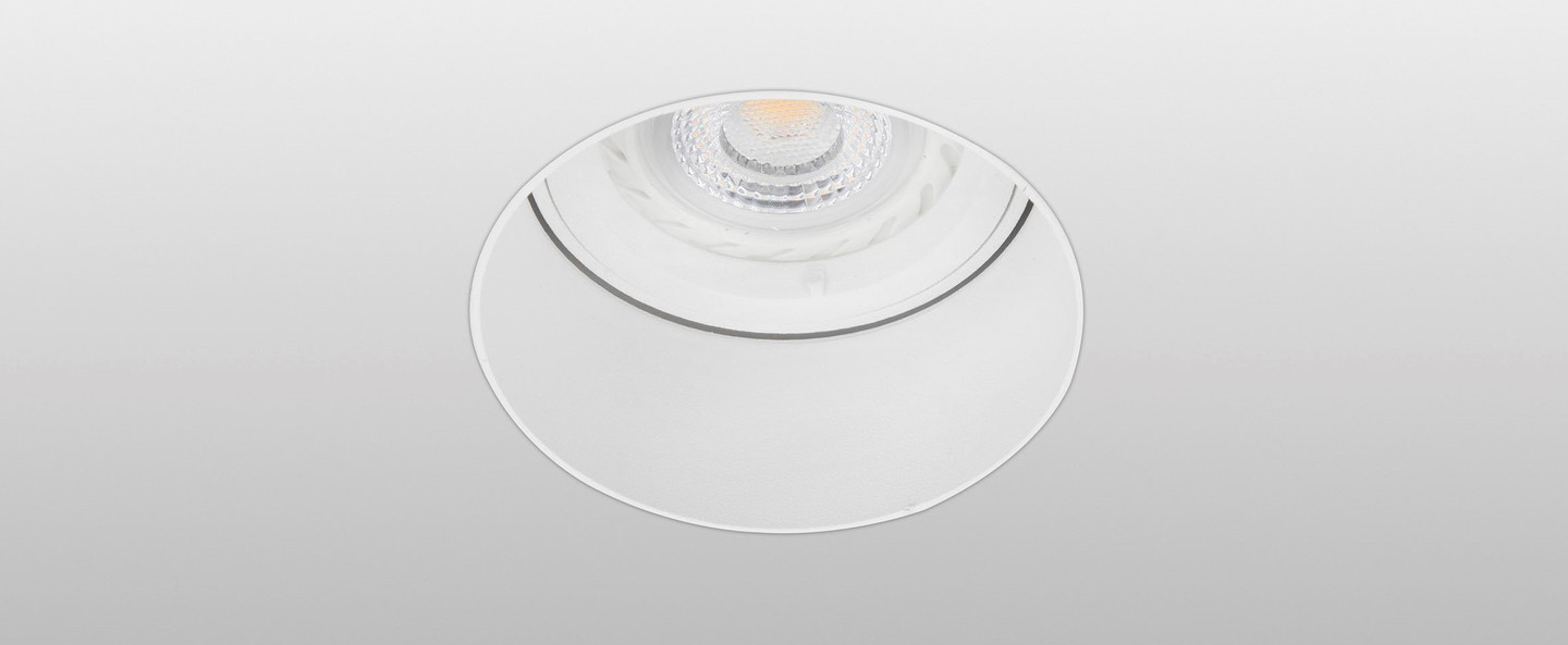 Spot encastrable sans collerette fresh blanc 60mm h60mm faro normal