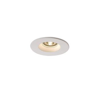 Spot encastrable sans collerette plastra platre blanc o13cm h9cm slv normal