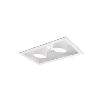 Spot encastrable sneak trim 2 0 blanc led 3000k 400 540lm l15 6cm h9cm wever ducre normal