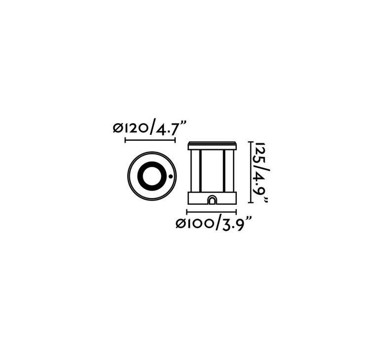 Tecno 6 estudi ribaudi spot encastrable recessed light  faro 71489n  design signed nedgis 67624 product