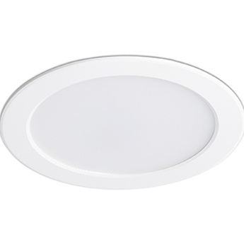 Spot encastrable ted blanc led 15w 3000k 2400lm ip44 o15cm h3cm faro normal