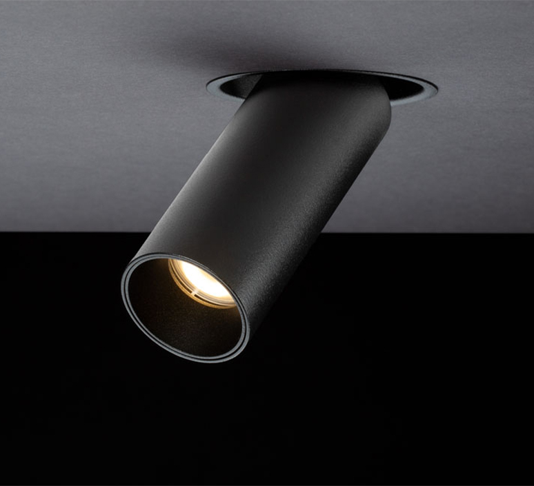 Tektus 45 telescopic 29 1 10v push studio doxis spot encastrable recessed light  doxis 1074 29 25 927 03  design signed nedgis 116825 product