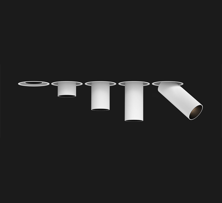 Tektus 45 telescopic 29 1 10v push studio doxis spot encastrable recessed light  doxis 1074 29 25 927 03  design signed nedgis 116827 product
