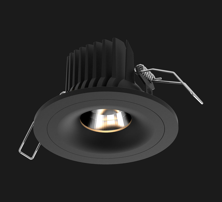 Titan fix round studio doxis spot encastrable recessed light  doxis 1007 90 2700 40 03  design signed nedgis 97012 product