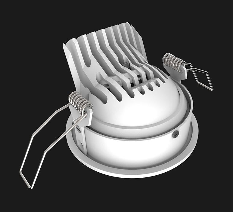 Titan mix round anti glare 28 dali boobytrap studio doxis spot encastrable recessed light  doxis 1012 28 26 927 01 b  design signed nedgis 120893 product