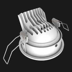 Titan mix round anti glare 40 dali boobytrap studio doxis spot encastrable recessed light  doxis 1012 40 26 927 01 b  design signed nedgis 120900 thumb