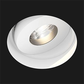 Spot encastrable titan trimless deep anti glare 28 dali blanc led 3000k 984lm o8 4cm h8 2cm doxis normal
