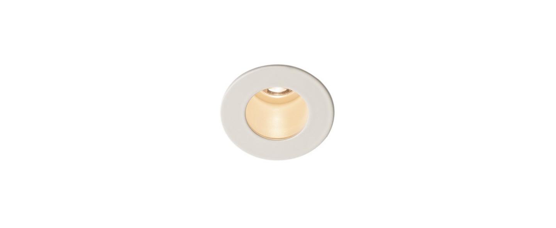 Spot encastrable triton mini blanc led o4 5cm h0 1cm slv normal