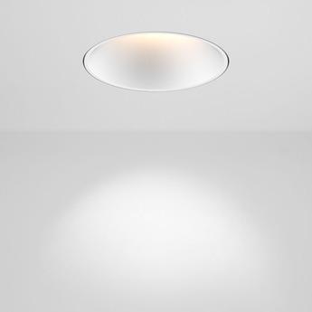 Spot focus trimless dali blanc led 2700k 1289lm o8 5cm h9cm doxis normal