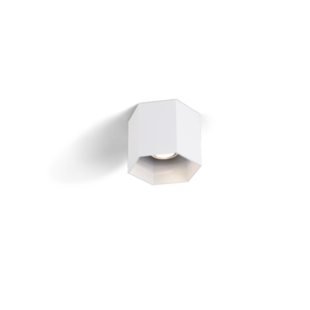 Spot hexo blanc o12 7cm wever ducre normal