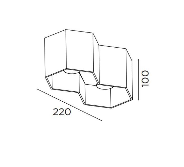 Hexo double studio wever ducre wever et ducre 146664g4 911031g1 luminaire lighting design signed 36215 product