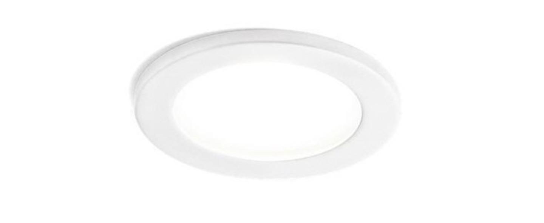 Spot luna round blanc led o9 2cm h11 4cm wever ducre normal