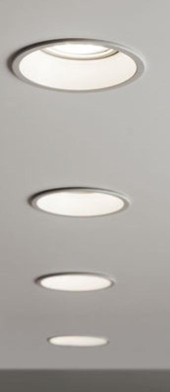 Spot minima round blanc o8 5cm h11 5cm astro normal