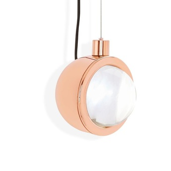 Spot pendant round cuivre led o11 4cm h14 5cm tom dixon normal
