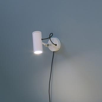 Spot polo blanc led h10cm marset normal