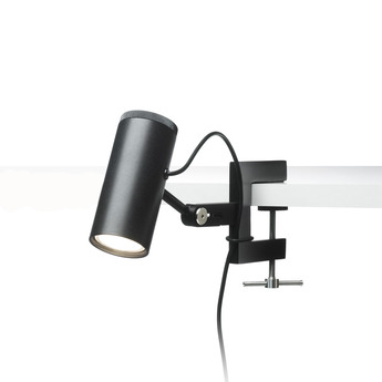 Spot polo noir led h10cm marset normal
