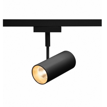 Spot revilo spot led pour rail 2 allumages 230v noir led 2700k 620lm o11 5cm h13 5cm slv normal