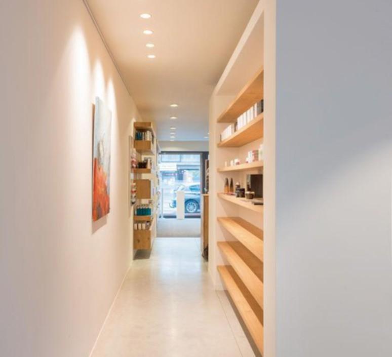 Spot salle de bain lotis 86 ip55 blanc o7 9cm h10cm modular 54360 product