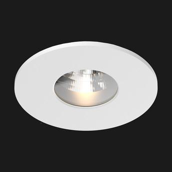 Spot salle de bain titan ip54 blanc led 2700 k 836 lm o8 5cm h6 8cm doxis normal
