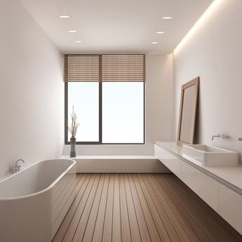 Spot salle de bain trimless round blanc mat ip65 o7 9cm h11 5cm astro normal