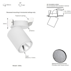 Atlas studio doxis spot semi encastre semi recessed light  doxis 1042 22 927 18  design signed nedgis 64924 thumb
