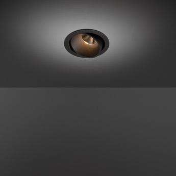 Spot smart lotis 115 orientable noir o11 5cm h6 3cm modular normal