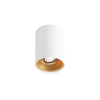 Spot soli 1 0 led dali blanc et or led 1800 2850k 410lm o10cm h13cm wever ducre normal