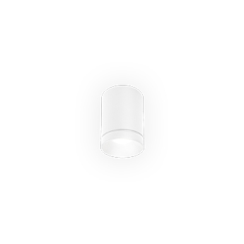 Spot taio round 1 0 blanc ip65 led 2700k 425lm o8cm h10 7cm wever ducre normal