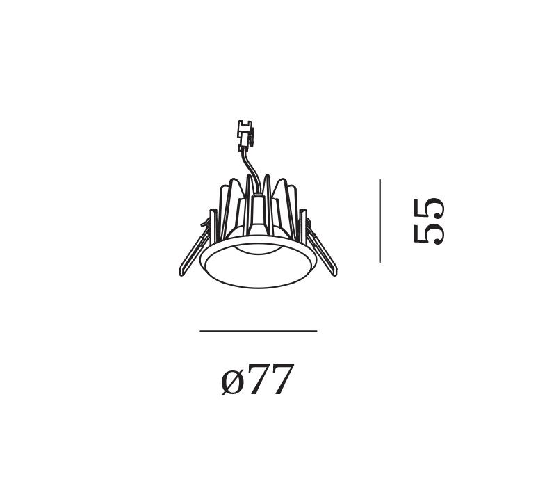 Taio round ip65 1 0 led studio wever ducre spot spot light  wever et ducre 180181w3  design signed nedgis 117854 product