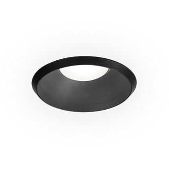 Spot taio round ip65 1 0 led noir ip65 led 2700k 310 425lm o7 7cm h5 5cm wever ducre normal