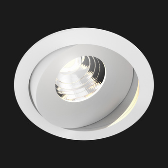 Spot titan mix round blanc 28 2700k 836lm o9 2cm h6 8cm doxis normal