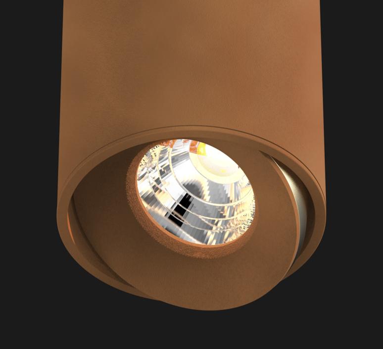 Titan semi recessed organic studio doxis spot spot light  doxis 1201 90 2700 40 23  design signed 34258 product