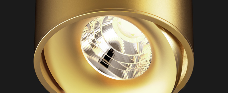Spot titan semi recessed organic or o8cm doxis normal
