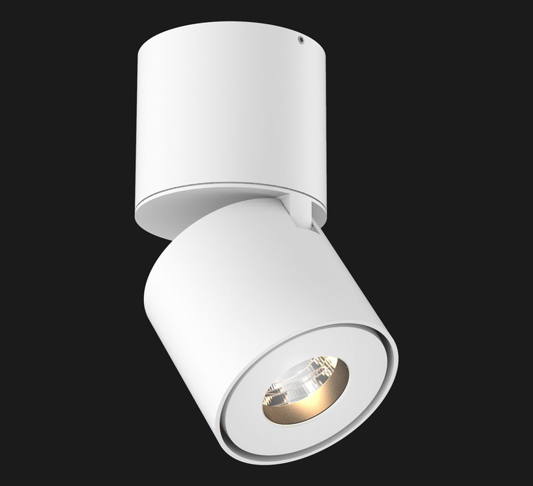 Titan surface mounted studio doxis spot spot light  doxis 1205 90 2700 40 01  design signed 88580 product