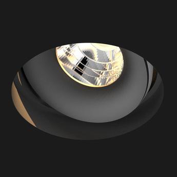 Spot titan trimless deep noir mat led o8 4cm h8 2cm doxis normal