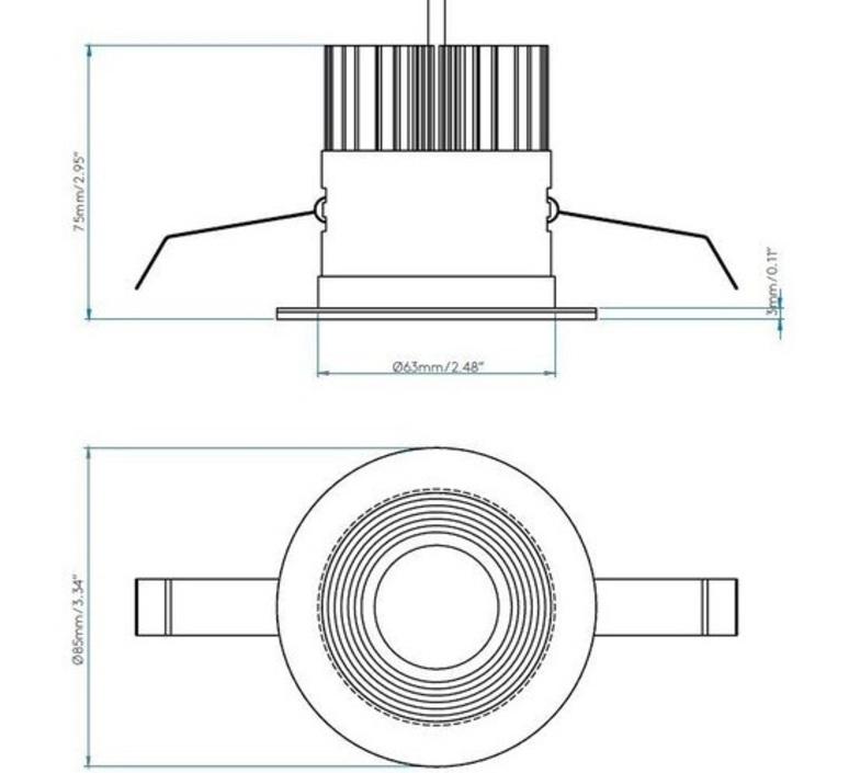 Vetro round studio astro spot spot light  astro 1254013  design signed nedgis 100598 product