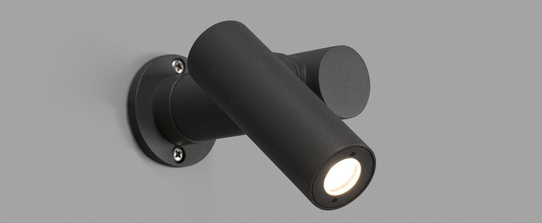 Spy born lamp grey ip65 3000k 500lm faro normal