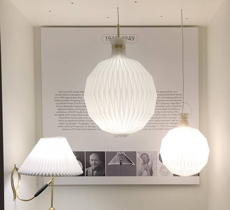 101 large kaare klint suspension pendant light  le klint 101l 9101lbr  design signed nedgis 75009 product