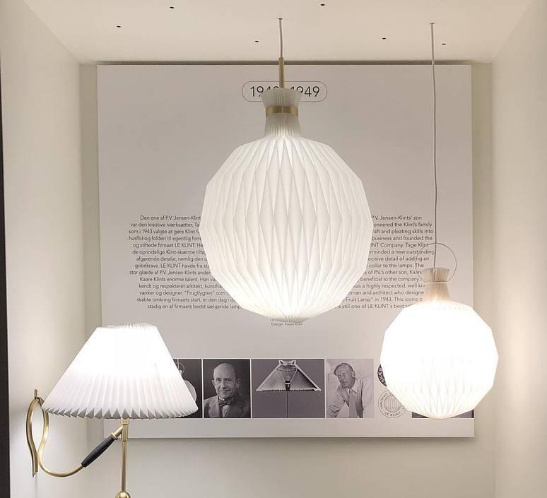 101 large kaare klint suspension pendant light  le klint 101l 9101lbr  design signed nedgis 75009 product